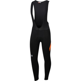 Sportful Neo Cuissards longs à bretelles Homme, black/orange sdr